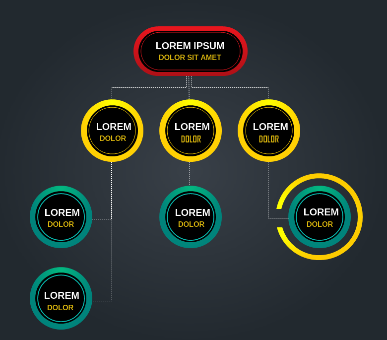 Buttons Diagram Template