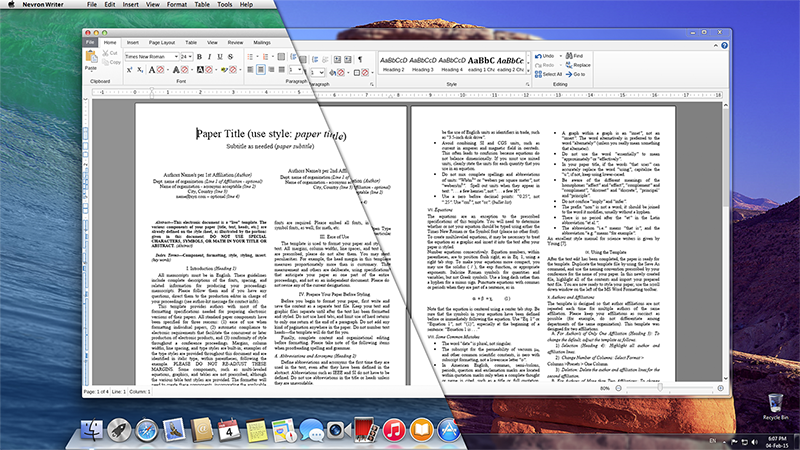 Text editor on windows and mac