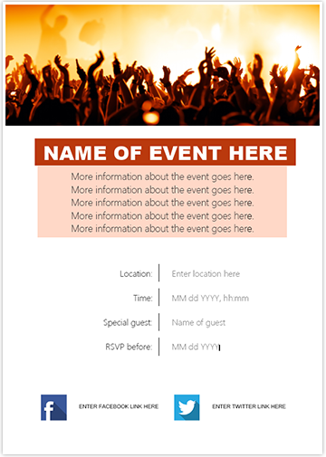 Event Invite Color